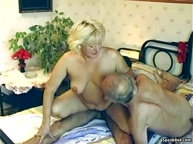 enjoying sex, granny movies, hairy pussy, old guy movies, older people, older woman fucking, threesome fuck xxx movie