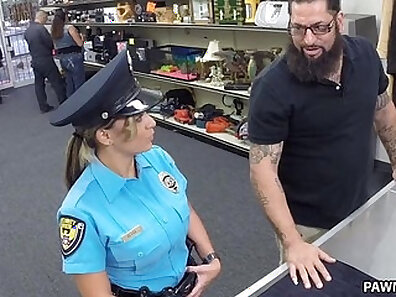 police officer, sex for cash xxx movie