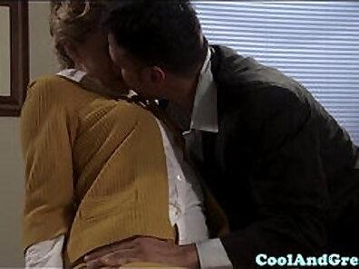 blondies, boss and secretary, boss fucking, dick sucking, high heels fetish, wearing heels xxx movie