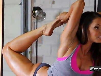 fit models, flexible babes, nude yoga, sexy sport scenes, solo posing xxx movie