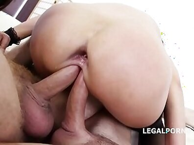anal fucking, butt banging, double penetration, fist in pussy, gaping asshole, orgasm on cam xxx movie