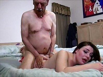 handsome grandfather, HD porno xxx movie