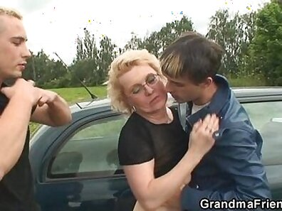 bitchy chicks, hot grandmother, random dude xxx movie