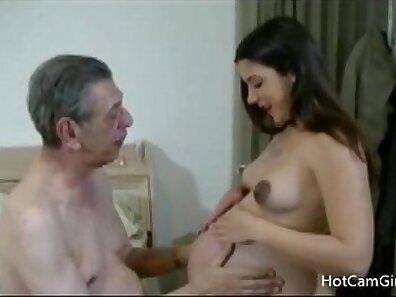 handsome grandfather, making love, pregnant women xxx movie