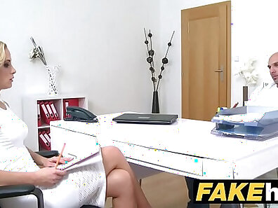 fake agent, female porn, slim woman xxx movie